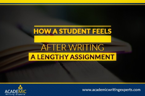 How A Student Feels After Writing A Lengthy Assignment