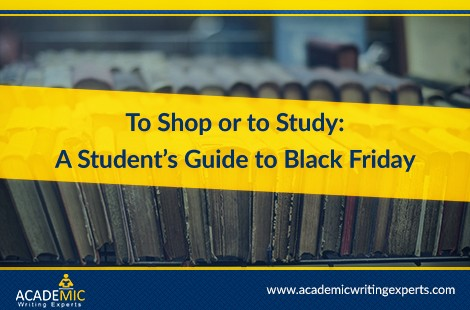 To Shop Or To Study: A Student's Guide To Black Friday